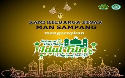 Selamat Idul Fitri 1 Syawal 1442 H / 2021 M